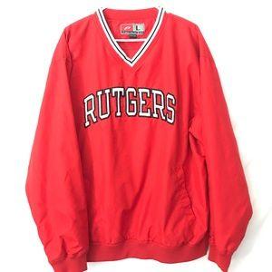 Vintage Rutgers Windbreaker